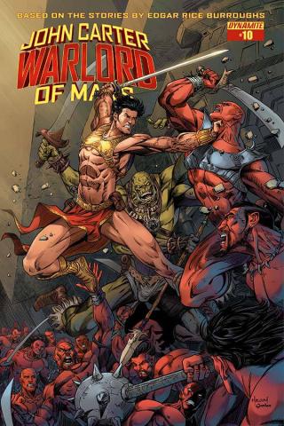 John Carter: Warlord of Mars #10 (Malsuni Cover)