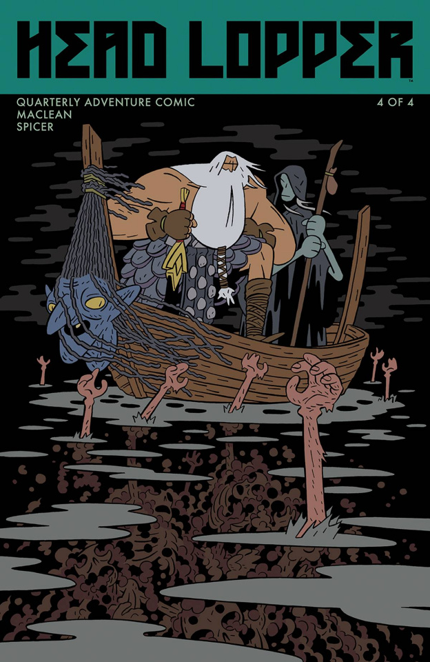 Head Lopper #4 (MacLean Cover)