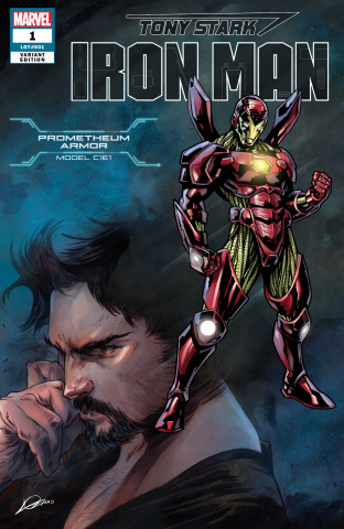 Tony Stark: Iron Man #1 (Heroes Reborn Armor Cover)