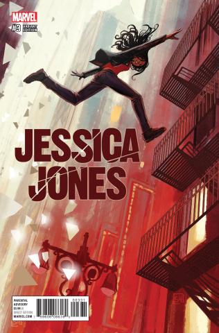 Jessica Jones #3 (Hans Cover)