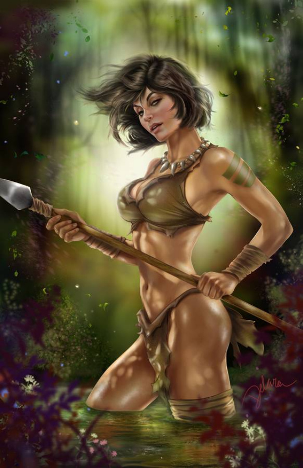 Grimm Fairy Tales: The Jungle Book - Fall of the Wild #5 (Delara Cover)