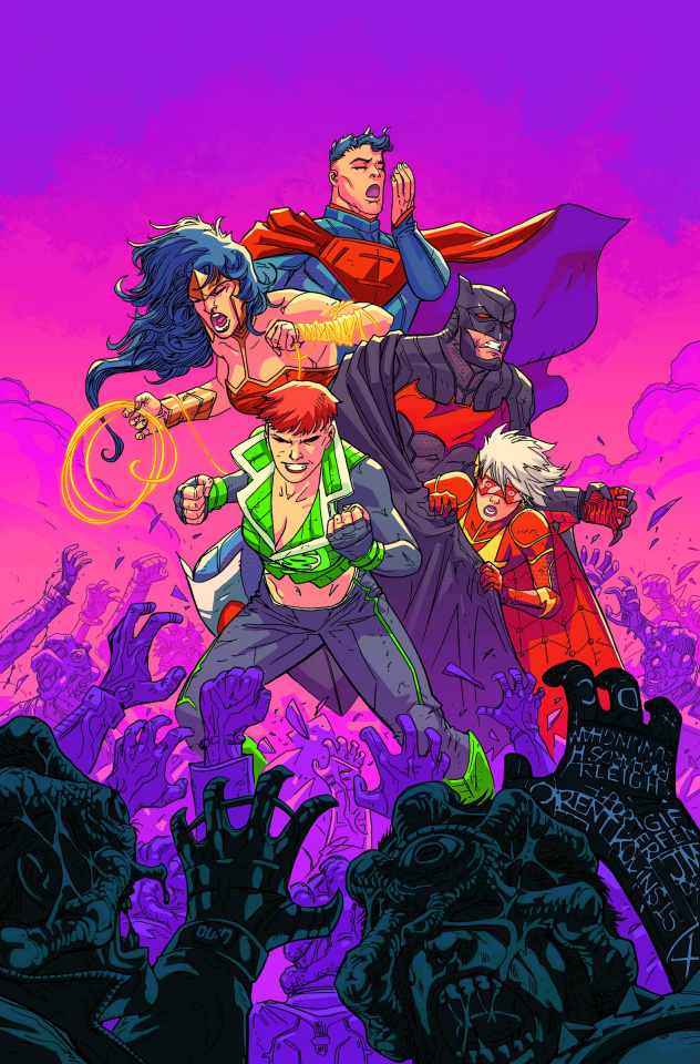 Justice League 3001 #1 (Variant Cover)