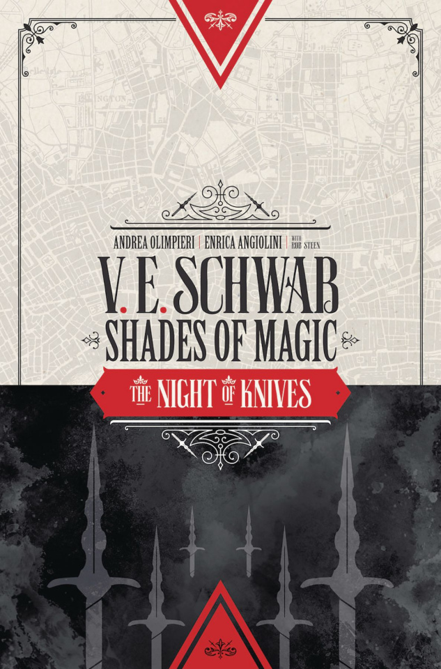 Shades of Magic #5 (Novel Style Cover)