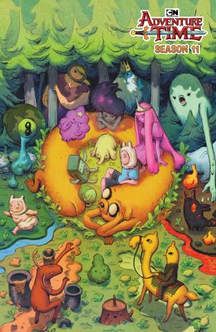 Adventure Time, Season 11 #3 (Benbassat Cover)