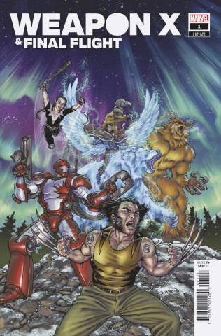 Heroes Reborn: Weapon X and Final Flight #1 (Yardin Cover)