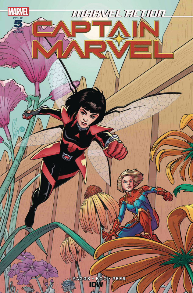 Marvel Action: Captain Marvel #5 (10 Copy Levens Cover)