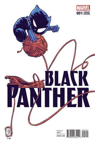 Black Panther #1 (Young Cover)
