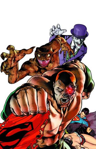Justice League #23.4: Secret Society