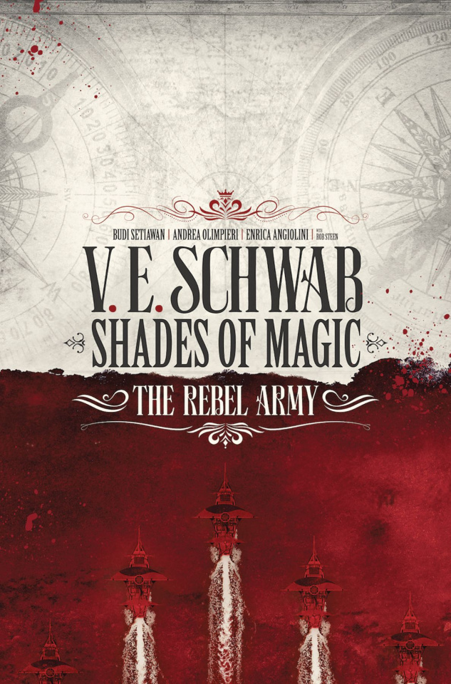 Shades of Magic: The Rebel Army #1 (Novel Style Cover)
