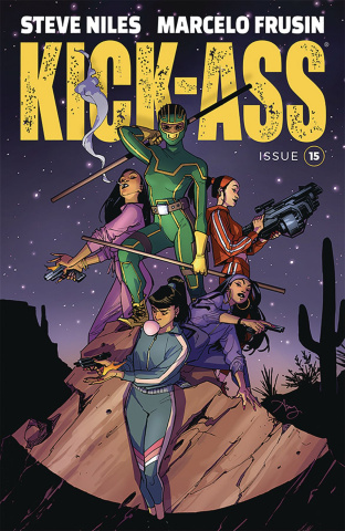 Kick-Ass #15 (Reeder Cover)