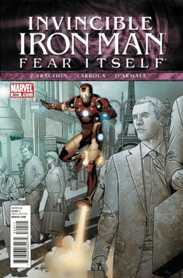 Invincible Iron Man #504: Fear