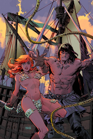Conan / Red Sonja #2