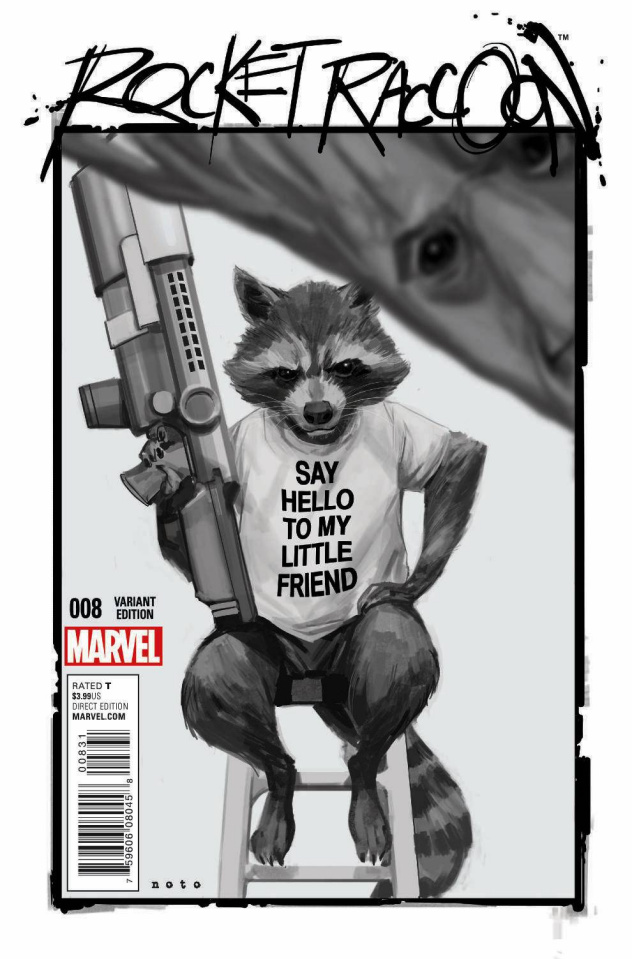 Rocket Raccoon #8 (Noto Cover)