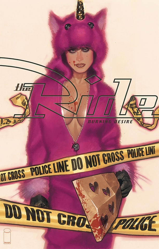 The Ride: Burning Desire #1 (Hughes Cover)