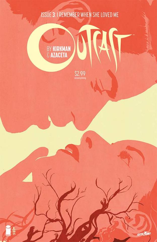 Outcast #3 (2nd Printing)