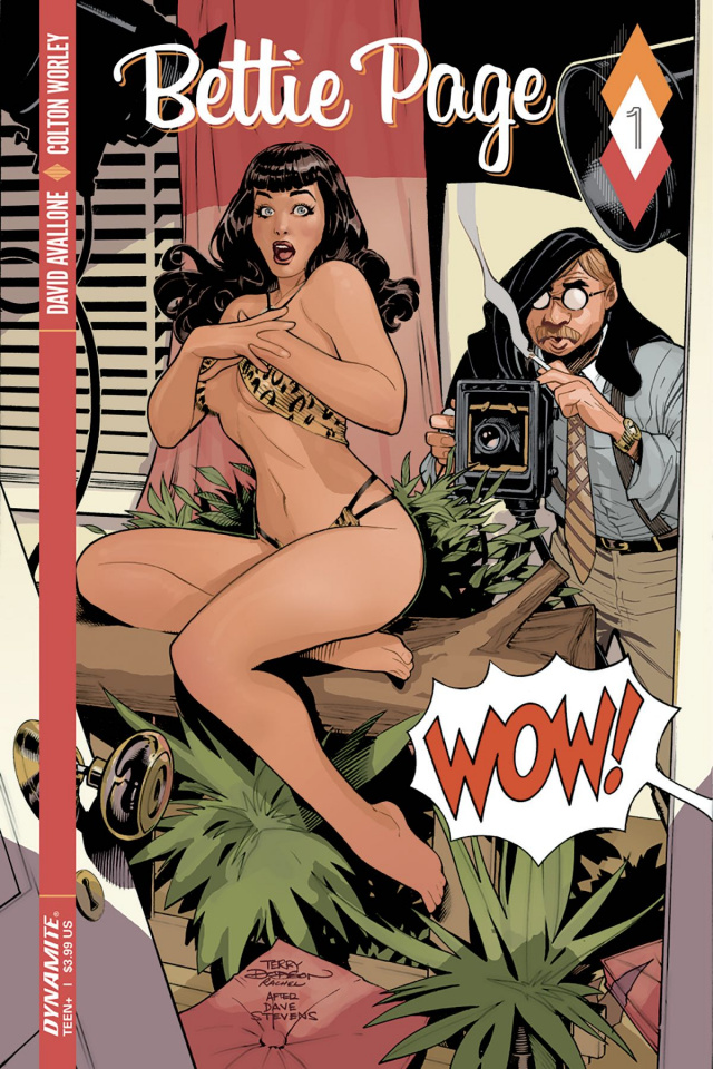 Bettie Page #1 (Dodson Cover)
