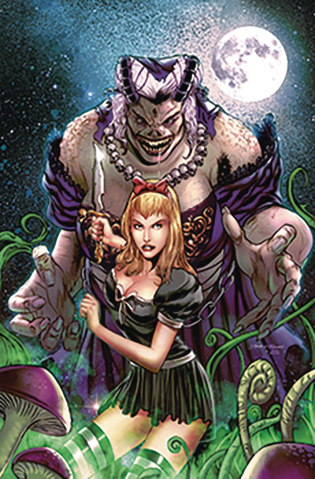 Revenge of Wonderland #5 (Vitorino Cover)