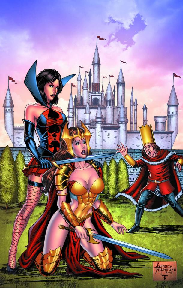 Wonderland #8 (Reyes Cover)