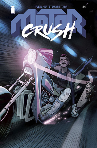 Motor Crush #4 (Tarr Cover)