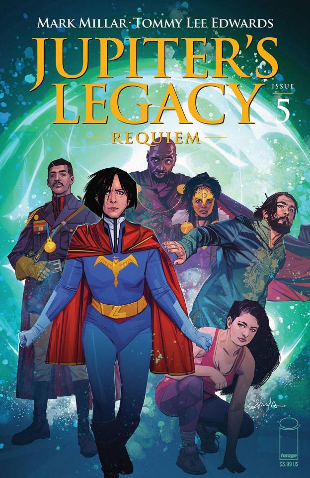 Jupiter's Legacy: Requiem #5 (Edwards Cover)