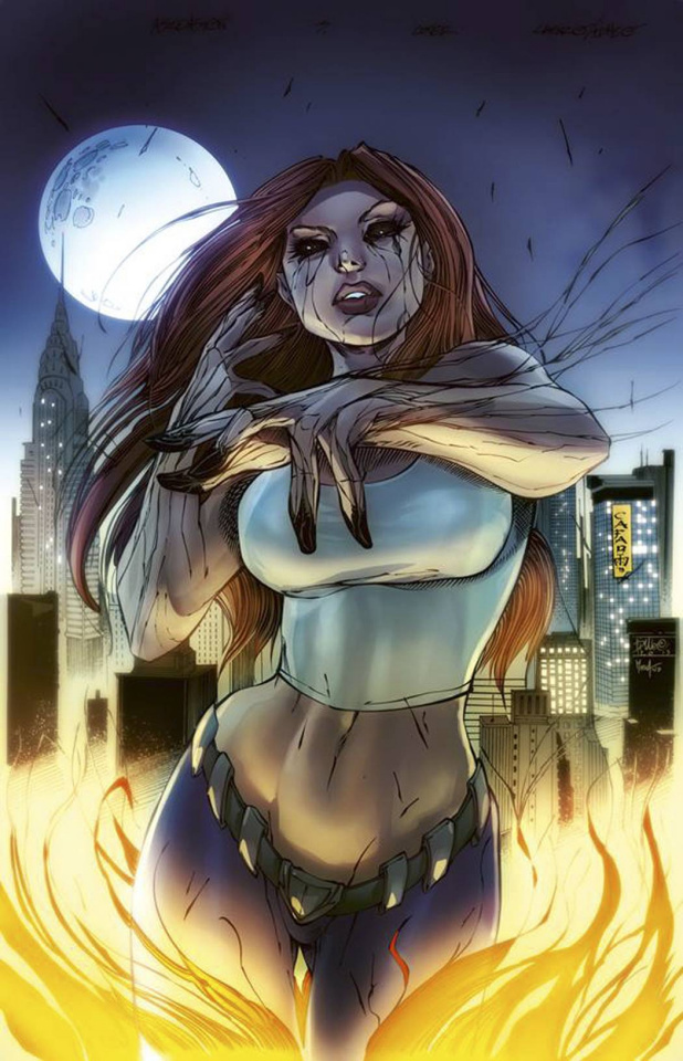 Grimm Fairy Tales: Ascension #3 (Cafaro Cover)