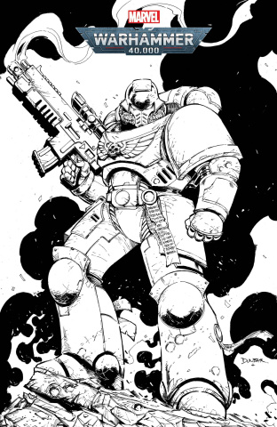 Warhammer 40,000: Marneus Calgar #1 (Color Your Own Cover)