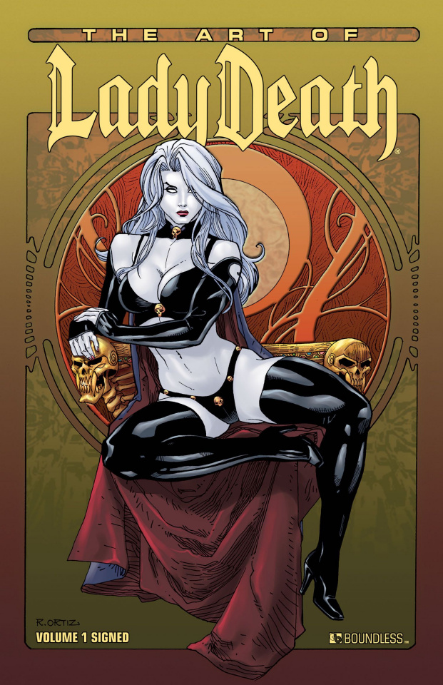 The Art of Lady Death Vol. 1 (Signed Edition)