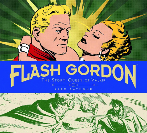 The Complete Flash Gordon Library Vol. 4: The Storm Queen of Valkir