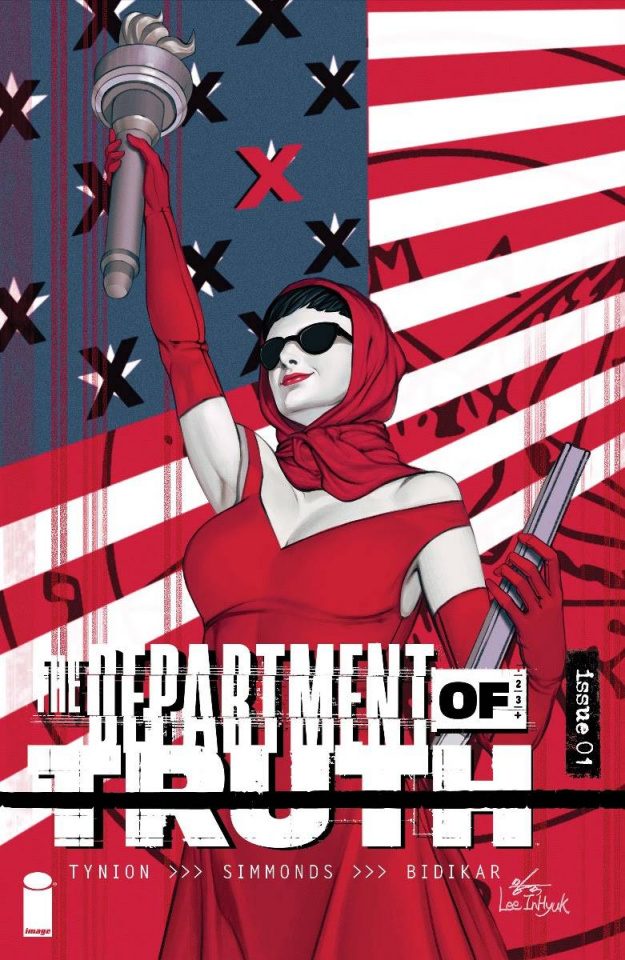 The Department of Truth #1 (25 Copy Lee Cover)