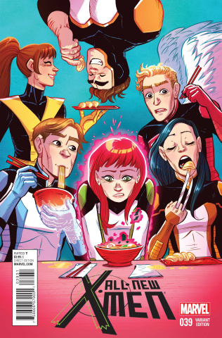 All-New X-Men #39 (Women of Marvel Hicks Cover)