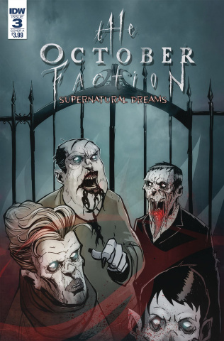 The October Faction: Supernatural Dreams #3 (Worm Cover)