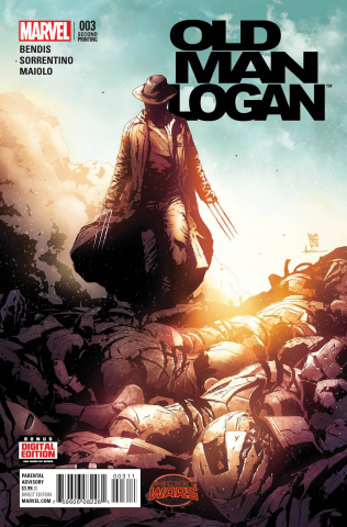 Old Man Logan #3 (Sorrentino 2nd Printing)