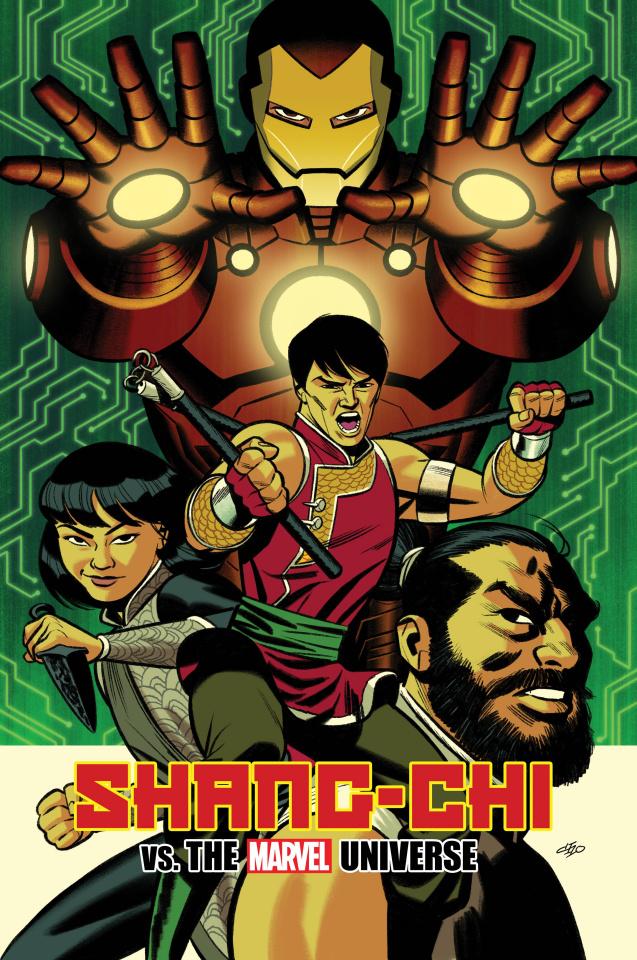 Shang-Chi #5 (Michael Cho Cover)