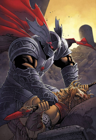 Grimm Fairy Tales: The Warlord of Oz #4 (Ortiz Cover)