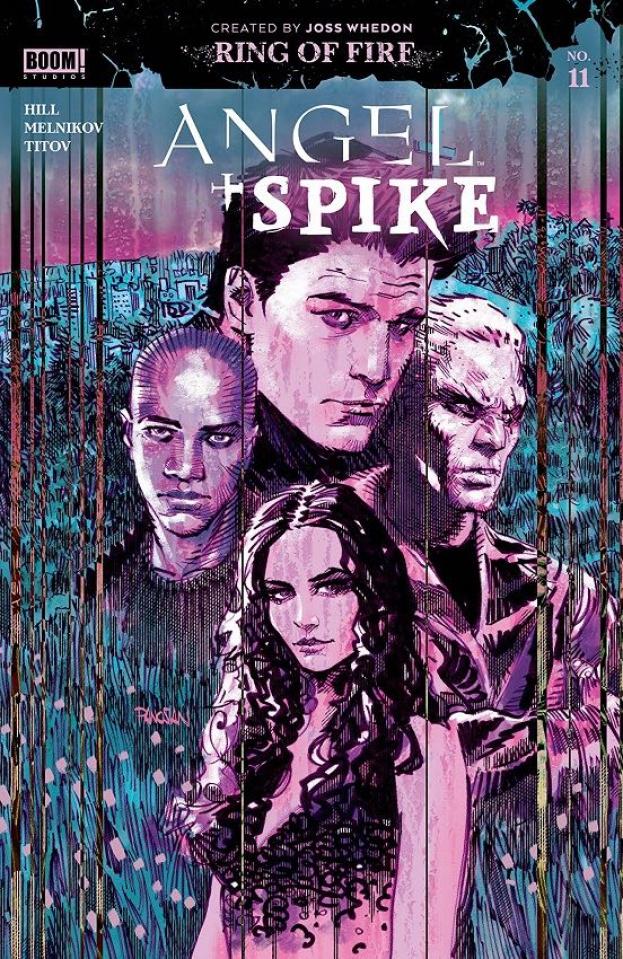 Angel & Spike #11 (Panosian Cover)