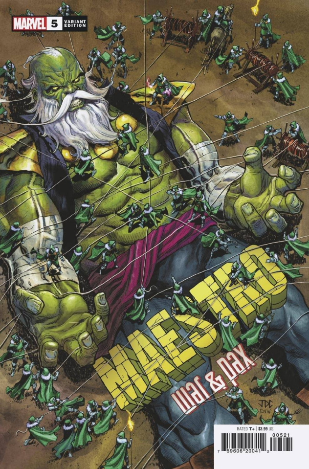 Maestro: War & Pax #5 (Cassara Cover)