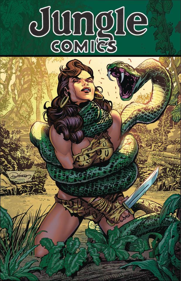 Jungle Comics #1 (Denham Cover)