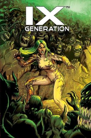 IXth Generation #8 (Rojo Cover)