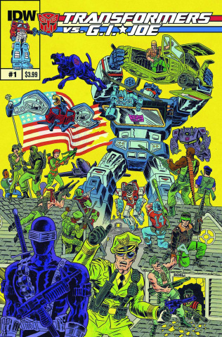 Transformers vs. G.I. Joe #1 (2nd Printing)