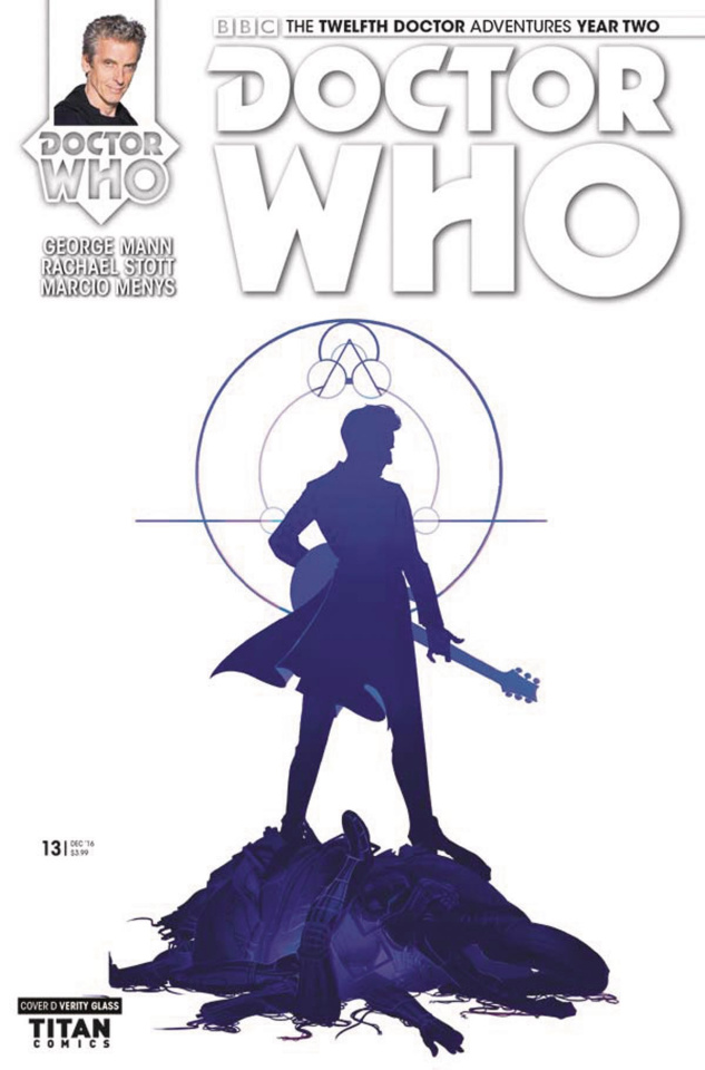 Doctor Who: New Adventures with the Twelfth Doctor, Year Two #13 (Glass Cover)