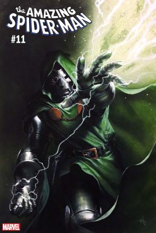The Amazing Spider-Man #11 (Dellotto Fantastic Four Villains Cover)