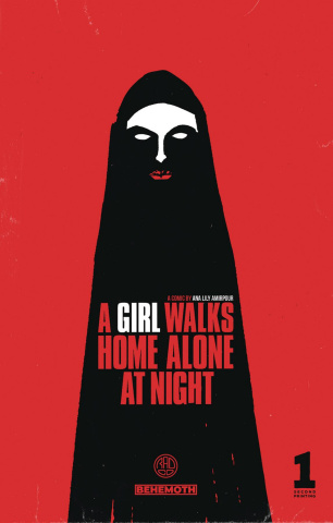 A Girl Walks Home Alone At Night #1 (2nd Printing)