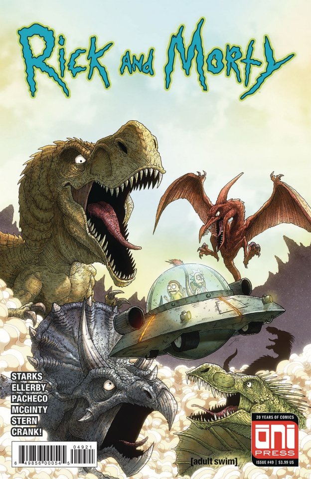 Rick and Morty #49 (Vasquez Cover)
