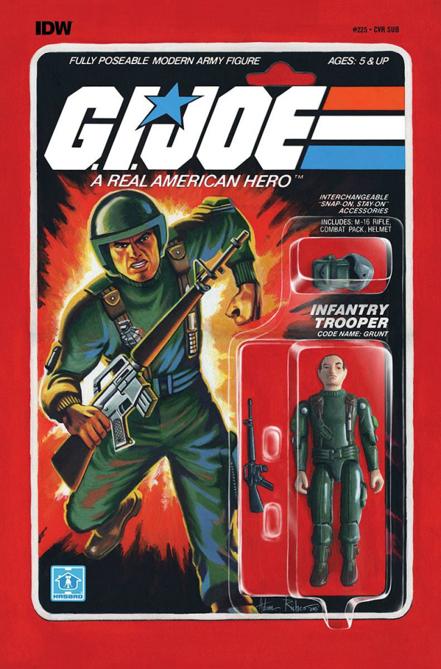 G.I. Joe: A Real American Hero #225 (Subscription Cover)