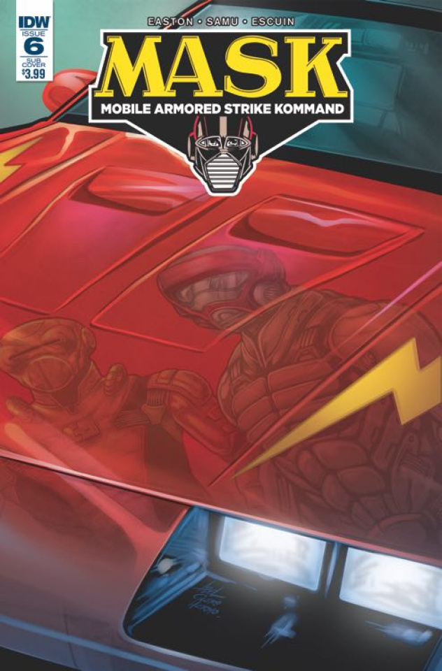 M.A.S.K.: Mobile Armored Strike Kommand #6 (Subscription Cover)