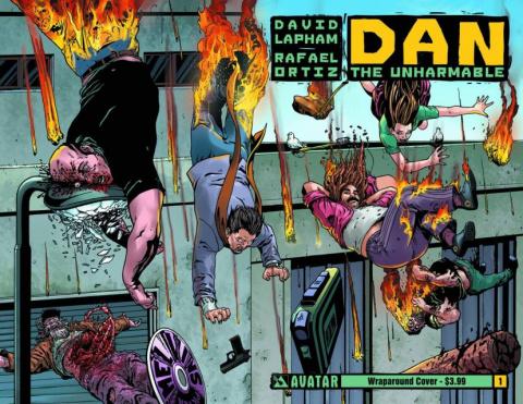 Dan the Unharmable #1 (Wrap Cover)