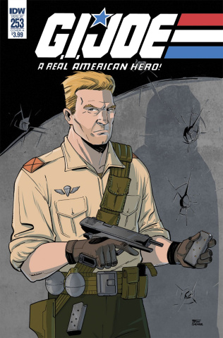 G.I. Joe: A Real American Hero #253 (Shearer Cover)