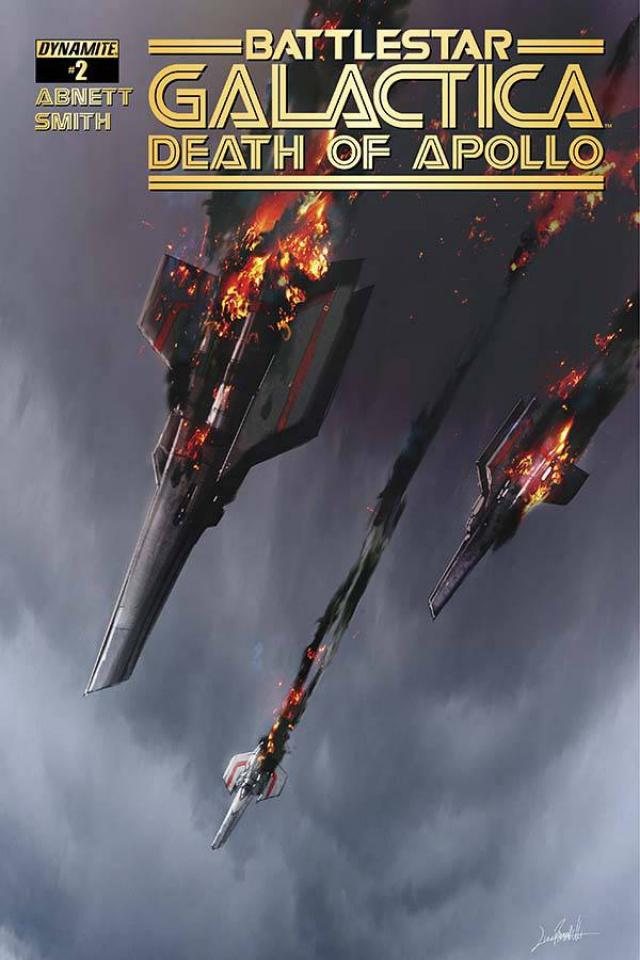 Battlestar Galactica: Death of Apollo #2 (Ramondelli Cover)