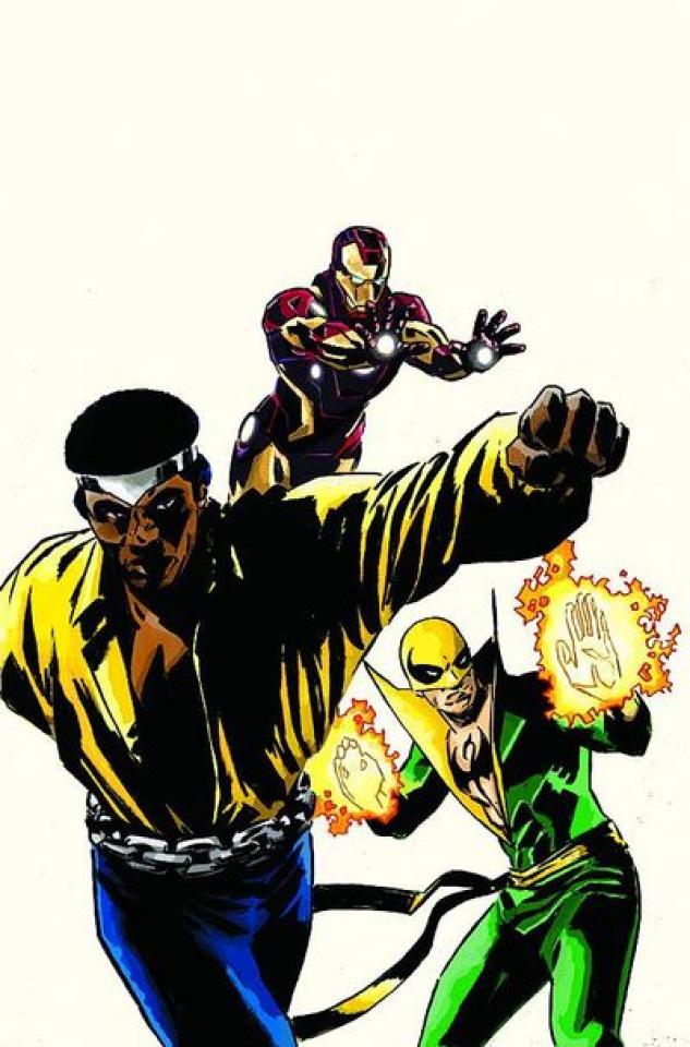 Iron Age #2 (Power Man & Iron Fist Variant)