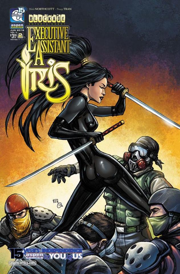 Executive Assistant Iris #2 (Cha Cover)